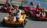 Go Karts at Dawlish Warren