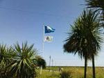 Blue flag at Dawlish Warren