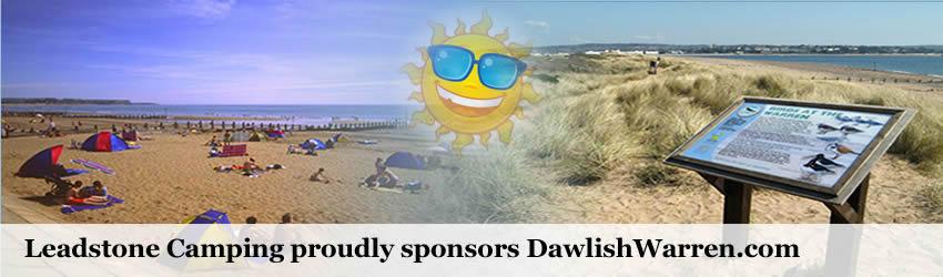 Dawlish Warren beach and nature reserve