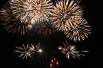 Fireworks at Dawlish Warren